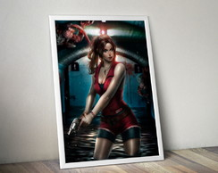Quadro Resident Evil 2 - Claire Redfield