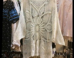 Blusa Crochet Off White