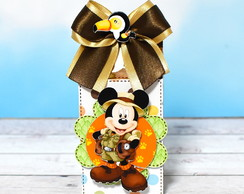 Caixa tema Mickey Safari