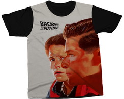 Camiseta De Volta Para O Futuro Filme Back To The Future