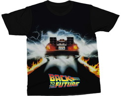 Camiseta De Volta Para o Futuro Back To The Future Camisa