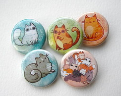 Buttons /Botons / Broches / Pins Personalizados 4,5