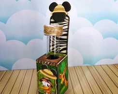Tubete tema Mickey Safari