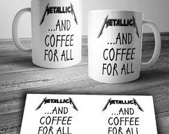 CANECA METALLICA ...AND COFFEE FOR ALL