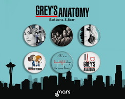 Bottons Grey's Anatomy 3,8cm