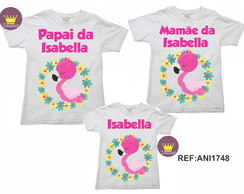 Kit 3 Camiseta Aniversario Flamingo 02