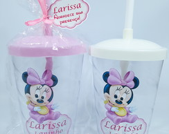 Copo Twister Minnie Baby 30un