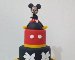 Bolo Fake Mickey em Biscuit