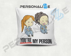 Almofada greys Anatomy you are my person mod 2