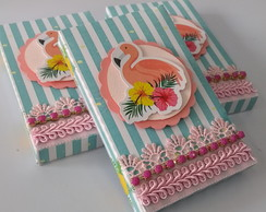 Kit Kat Flamingos Green