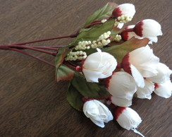 BOUQUET ART. MINI BOTÕES CREME