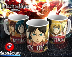Caneca Attack on Titan MOD1