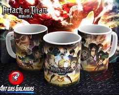 Caneca Attack on Titan MOD2