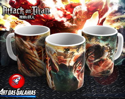 Caneca Attack on Titan MOD4