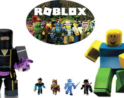 Kit Display totem Tema Roblox Festa Infantil