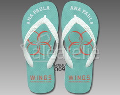 Chinelo BTS Kpop Wings Personalizado Havaianas Top Original