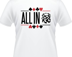 Camisa Poker All In Masculina