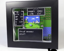 Quadro 3D Dragon Quest