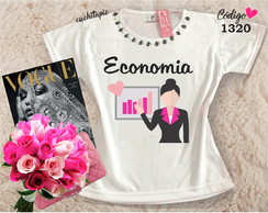 Baby look Customizada - Economia