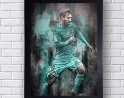 Poster Decorativo Messi