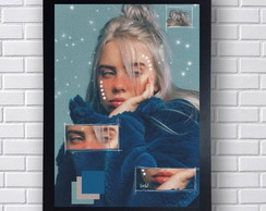 Poster Decorativo Billie Eilish