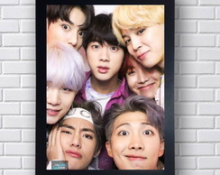 Poster Decorativo BTS