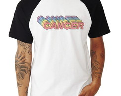 Camisa Raglan Cancer Signos Tumblr Manga Curta