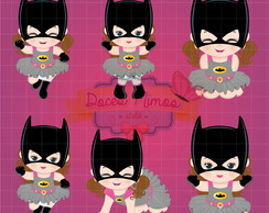 Kit digital Baby Batgirl
