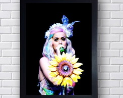 Poster Decorativo Cantora Katy Perry