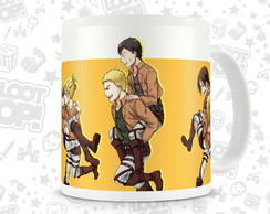 Caneca Anime Attack On Titan Shingeki no Kyojin LO010