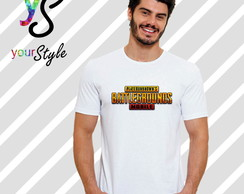 Camiseta Game PUBG Player Unknown's Battlegrounds Mobile