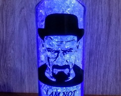 Garrafa Luminaria Breaking Bad