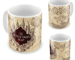 Caneca Personalizada Harry Potter The marauders map