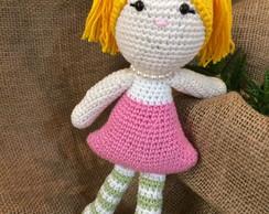 Boneca Pity Amigurumi no Elo7 | Crocheteria da Maria (CF279D) | 194x244