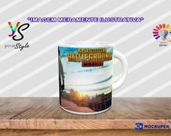 Caneca Game PUBG Playerunknown's Battlegrounds Mobile