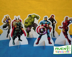 Display de Mesa dos Vingadores