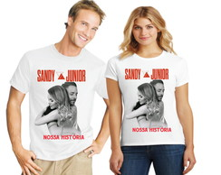 Camiseta Sandy e Junior