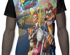 Camiseta Camisa Game Crash Bandicoot Jogo Ps 1 1141