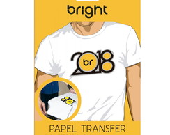 Papel Transfer Light Bright - c/ 10 Fls.