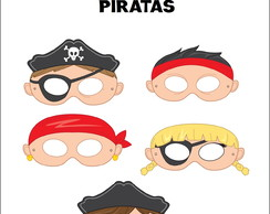 Máscaras Piratas