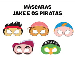 Máscaras Jake e os Piratas