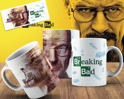 Caneca Séries - Breaking Bad Modelo 01