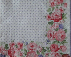 Guardanapo Greengate Rose White