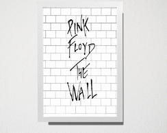 Quadro A5 Pink Floyd The Wall