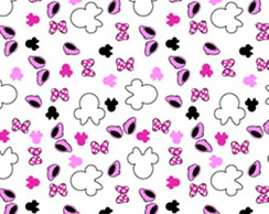Tecido Estampado - Disney Minnie Mouse