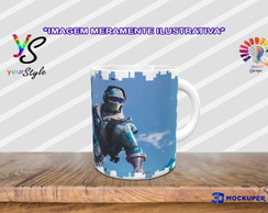 Caneca Game Fortnite Skin
