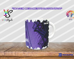 Caneca Game Fortnite Skin Cloaked Star