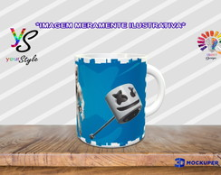 Caneca Game Fortnite Skins Marshmello