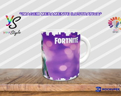 Caneca Game Fortnite Skins Whiteout
