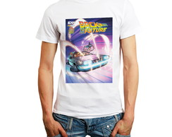 Camiseta De Volta Para O Futuro Back To The Future Barato